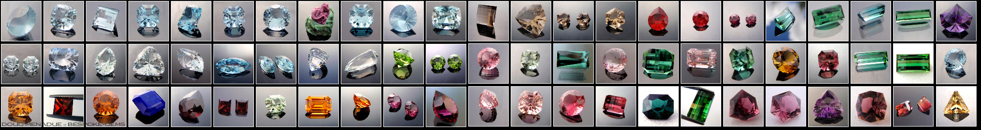 Bespoke Gems - Fine Handcut Designer Gemstones - Precious and Semi Precious Gemstones - Fine Handcut Designer Gemstones - Click To Enter