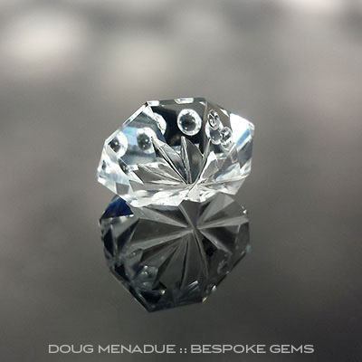 Topaz, Fantasy, O'Briens Creek, Mt Surprise, Australia, #c102 - Doug Menadue :: Bespoke Gems - Master gemcutter and lapidary artist specialising in fine custom cut precision gems from a wide range of select facet gem rough. Located in Sydney, Australia.