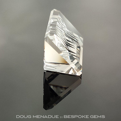 Champagne Topaz, Fantasy Bar Cut, O'Briens Creek, North Queensland, Australia, #c106