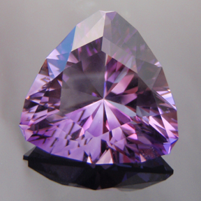 Amethyst, Trouble With Tribbles, #103 - Doug Menadue :: Bespoke Gems - Master gemcutter and lapidary artist specialising in fine custom cut precision gems from a wide range of select facet gem rough. Located in Sydney, Australia.