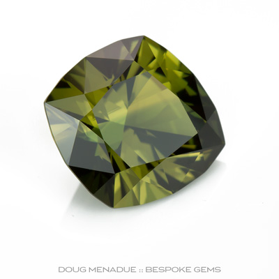 Colour Change - Green Yellow / Purple Sapphire, Shield, Subera, Rubyvale, Central Queensland, Australia, 5.68 Carats, 12.1X11.2X6.71mm, #12112-2, A beautiful natural Colour Change - Green Yellow / Purple Sapphire from the Australian sapphire gemfields. Doug Menadue :: Bespoke Gems :: WWW.BESPOKE-GEMS.COM - Finest Precision Custom Gemcutting Based In Sydney Australia