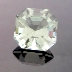 Sage Green Quartz, Asscher Cut, #147