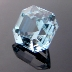 Natural Blue Topaz, Egyptian Asscher, Brazil, #166