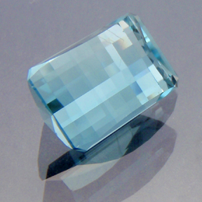 Natural Blue Topaz, Smith Bar, Brazil, #177 - Doug Menadue :: Bespoke Gems - Master gemcutter and lapidary artist specialising in fine custom cut precision gems from a wide range of select facet gem rough. Located in Sydney, Australia.