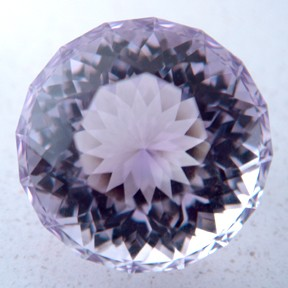 Rose de France Amethyst, Acorn, #18 - Doug Menadue :: Bespoke Gems - Master gemcutter and lapidary artist specialising in fine custom cut precision gems from a wide range of select facet gem rough. Located in Sydney, Australia.