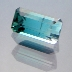Bi-Colour Indicolite Tourmaline, Emerald Cut, #181