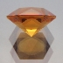 Rio-Grande Citrine, Frosted Hexagram, #188