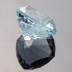 Natural Blue Topaz, Nigerian Cushion, Brazil, #198