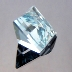 Natural Blue Topaz, Mock Check Square, Brazil, #199