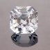 Asscher Cut Topaz, Asscher Cut, O'Briens Creek, Mt Surprise, Australia, #216