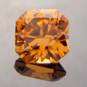 Fanta Orange Spessartite Garnet, Flanders Brilliant, #229 - Doug Menadue :: Bespoke Gems - Master gemcutter and lapidary artist specialising in fine custom cut precision gems from a wide range of select facet gem rough. Located in Sydney, Australia.
