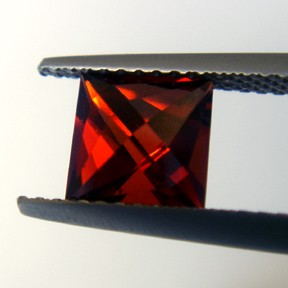 Garnet, Lighthouse, #23 - Doug Menadue :: Bespoke Gems - Master gemcutter and lapidary artist specialising in fine custom cut precision gems from a wide range of select facet gem rough. Located in Sydney, Australia.