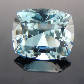 Natural Blue Topaz, Victoria Cut, Brazil, #237 - Doug Menadue :: Bespoke Gems - Master gemcutter and lapidary artist specialising in fine custom cut precision gems from a wide range of select facet gem rough. Located in Sydney, Australia.