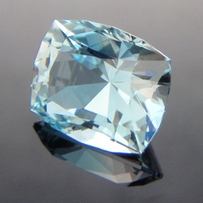 Natural Blue Topaz, Victoria Cut, Brazil, #237