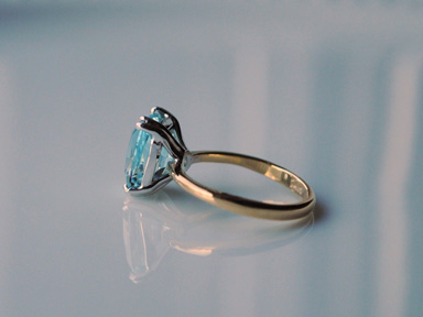 Natural Blue Topaz, #237