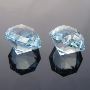 Natural Blue Topaz, Octadome #12, O'Briens Creek, North Queensland, Australia, #239
