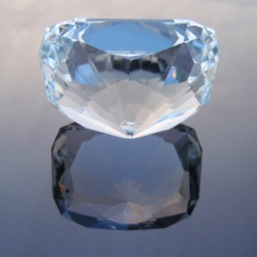 Natural Blue Topaz, Signature #3, O'Briens Creek, Mt Surprise, North Queensland, Australia, #257