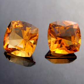 Citrine, Victoria Cut, #266 - Doug Menadue :: Bespoke Gems - Master gemcutter and lapidary artist specialising in fine custom cut precision gems from a wide range of select facet gem rough. Located in Sydney, Australia.