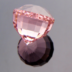 Pink / Clear Tourmaline, Acorn, Afghanistan, #283