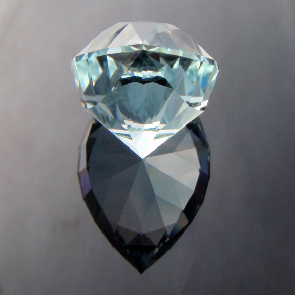 Natural Blue Topaz, Utopia Pear, O'Briens Creek, Mt Surprise, North Queensland, Australia, #288