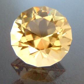 Citrine, Round Brilliant, #29