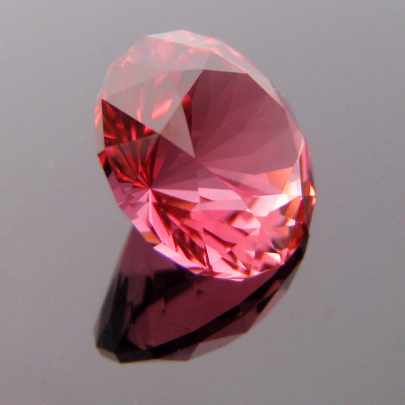 Hot Pink Tourmaline, Bicentenial Brilliant, Nigeria, #300