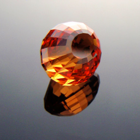 Fanta Orange Mandarin Spessartite Garnet, Under The Dome #5, Tanzania, #317