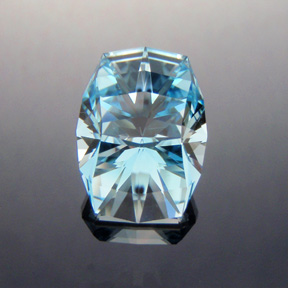 Natural Blue Topaz, Atlas, O'Briens Creek, North Queensland, Australia, #333 - Doug Menadue :: Bespoke Gems - Master gemcutter and lapidary artist specialising in fine custom cut precision gems from a wide range of select facet gem rough. Located in Sydney, Australia.