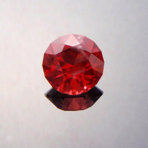 Spinel, Mahenge, Tanzania, Round Brilliant, #360 - Doug Menadue :: Bespoke Gems - Master gemcutter and lapidary artist specialising in fine custom cut precision gems from a wide range of select facet gem rough. Located in Sydney, Australia.