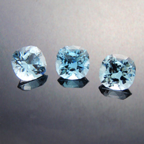 Blue Topaz, Victoria Regent, #427 - Doug Menadue :: Bespoke Gems - Master gemcutter and lapidary artist specialising in fine custom cut precision gems from a wide range of select facet gem rough. Located in Sydney, Australia.