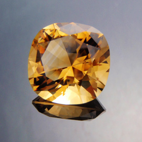 Rio-Grande Citrine, Victoria Regent, #434 - Doug Menadue :: Bespoke Gems - Master gemcutter and lapidary artist specialising in fine custom cut precision gems from a wide range of select facet gem rough. Located in Sydney, Australia.