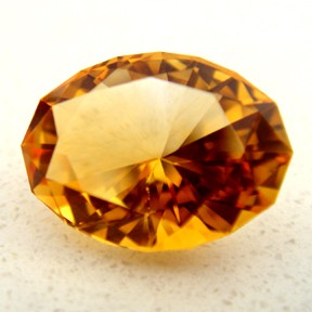 Citrine, Rainbow, #44 - Doug Menadue :: Bespoke Gems - Master gemcutter and lapidary artist specialising in fine custom cut precision gems from a wide range of select facet gem rough. Located in Sydney, Australia.