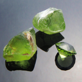 Peridot, Simple Portuguese, Pakistan, #465 - Doug Menadue :: Bespoke Gems - Master gemcutter and lapidary artist specialising in fine custom cut precision gems from a wide range of select facet gem rough. Located in Sydney, Australia.