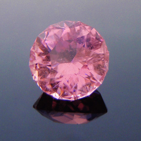 Vivid Pink Tourmaline, Antique Round 1910, Himalaya Mine, USA, #480