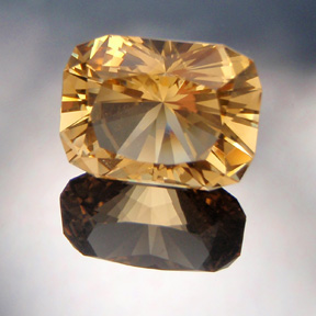 Golden Beryl, Signature #3, Brazil, #509 - Doug Menadue :: Bespoke Gems - Master gemcutter and lapidary artist specialising in fine custom cut precision gems from a wide range of select facet gem rough. Located in Sydney, Australia.