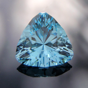 Blue Topaz, Trouble With Tribbles, Pakistan, #517 - Doug Menadue :: Bespoke Gems - Master gemcutter and lapidary artist specialising in fine custom cut precision gems from a wide range of select facet gem rough. Located in Sydney, Australia.