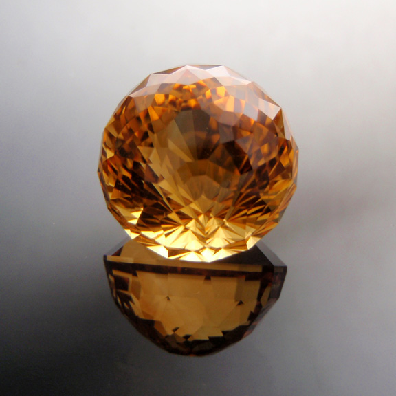 Flame Orange Citrine, Kalli, Brazil, #521