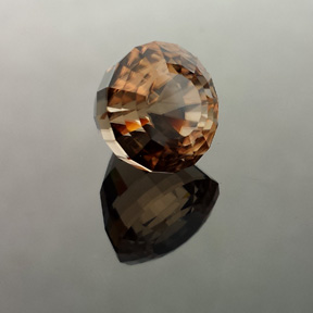 Zircon, Acorn, Africa, #541 - Doug Menadue :: Bespoke Gems - Master gemcutter and lapidary artist specialising in fine custom cut precision gems from a wide range of select facet gem rough. Located in Sydney, Australia.