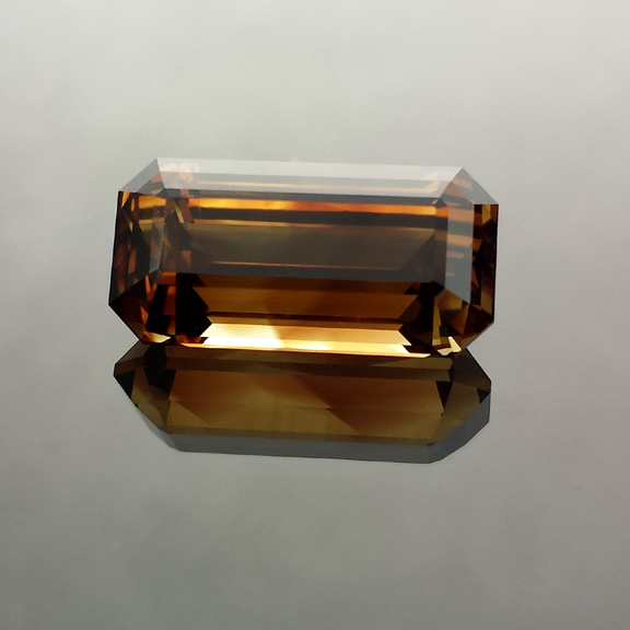 Chrysoberyl, Emerald Cut, Africa, #542