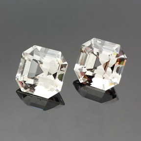 Phenakite, Square Step Cut, Africa, #545 - Doug Menadue :: Bespoke Gems - Master gemcutter and lapidary artist specialising in fine custom cut precision gems from a wide range of select facet gem rough. Located in Sydney, Australia.