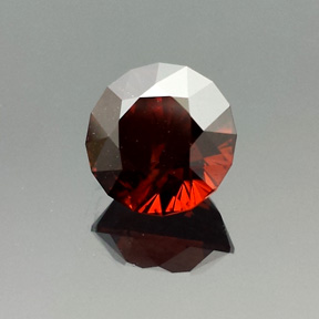 Zircon, Antique Round 1910, Africa, #546 - Doug Menadue :: Bespoke Gems - Master gemcutter and lapidary artist specialising in fine custom cut precision gems from a wide range of select facet gem rough. Located in Sydney, Australia.