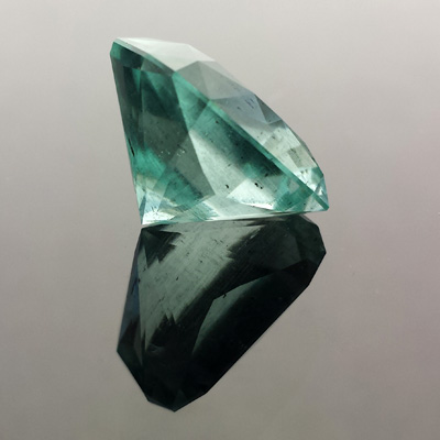 Aquamarine, Signature #3, #575 - Doug Menadue :: Bespoke Gems - Master gemcutter and lapidary artist specialising in fine custom cut precision gems from a wide range of select facet gem rough. Located in Sydney, Australia.