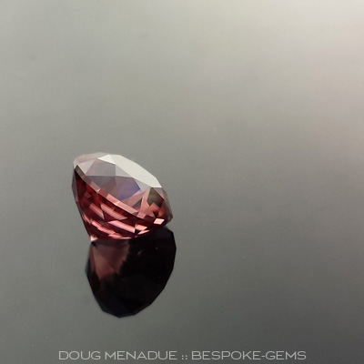 Zircon, Africa, Antique Round 1910, #615 - Doug Menadue :: Bespoke Gems - Master gemcutter and lapidary artist specialising in fine custom cut precision gems from a wide range of select facet gem rough. Located in Sydney, Australia.