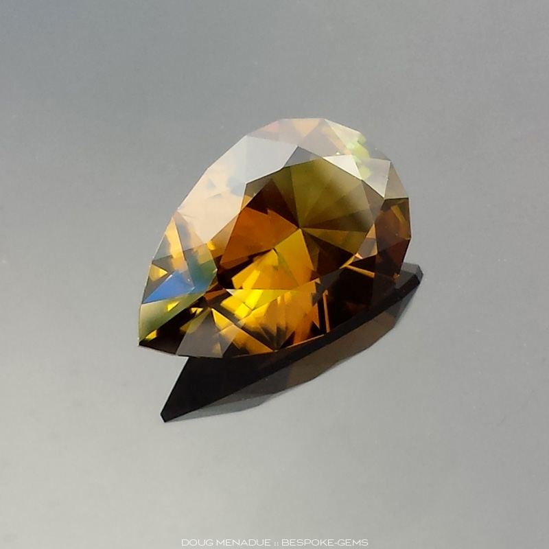 Sunset Tourmaline, Lazy Pear, Unknown, #617