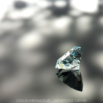 Aquamarine, Signature #4, #624 - Doug Menadue :: Bespoke Gems - Master gemcutter and lapidary artist specialising in fine custom cut precision gems from a wide range of select facet gem rough. Located in Sydney, Australia.