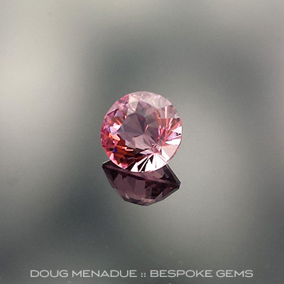 Tourmaline, Inca Dome, #660 - Doug Menadue :: Bespoke Gems - Master gemcutter and lapidary artist specialising in fine custom cut precision gems from a wide range of select facet gem rough. Located in Sydney, Australia.