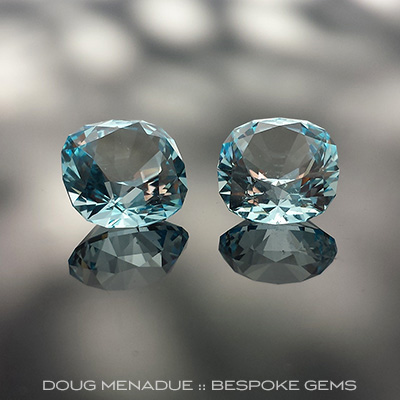 Sky Blue Topaz, Victoria Regent, Brazil, #678 - Doug Menadue :: Bespoke Gems - Master gemcutter and lapidary artist specialising in fine custom cut precision gems from a wide range of select facet gem rough. Located in Sydney, Australia.