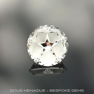 Topaz, Lone Star, O'Briens Creek, Mt Surprise, Australia, #680 - Doug Menadue :: Bespoke Gems - Master gemcutter and lapidary artist specialising in fine custom cut precision gems from a wide range of select facet gem rough. Located in Sydney, Australia.