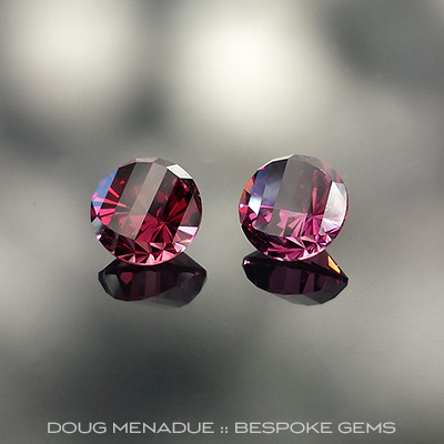 Garnet, Mini-Mint and Brilliant Pear, Mali, #682 - Doug Menadue :: Bespoke Gems