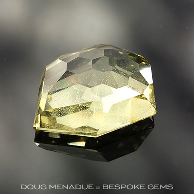 Golden Beryl, Freestyle Honeycomb, #683 - Doug Menadue :: Bespoke Gems